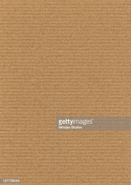 High Resolution Corrugated Cardboard Grunge Texture