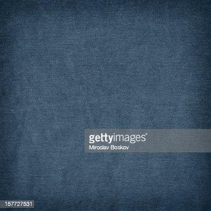 High Resolution Deep Blue Denim Crumpled Grunge Texture Sample