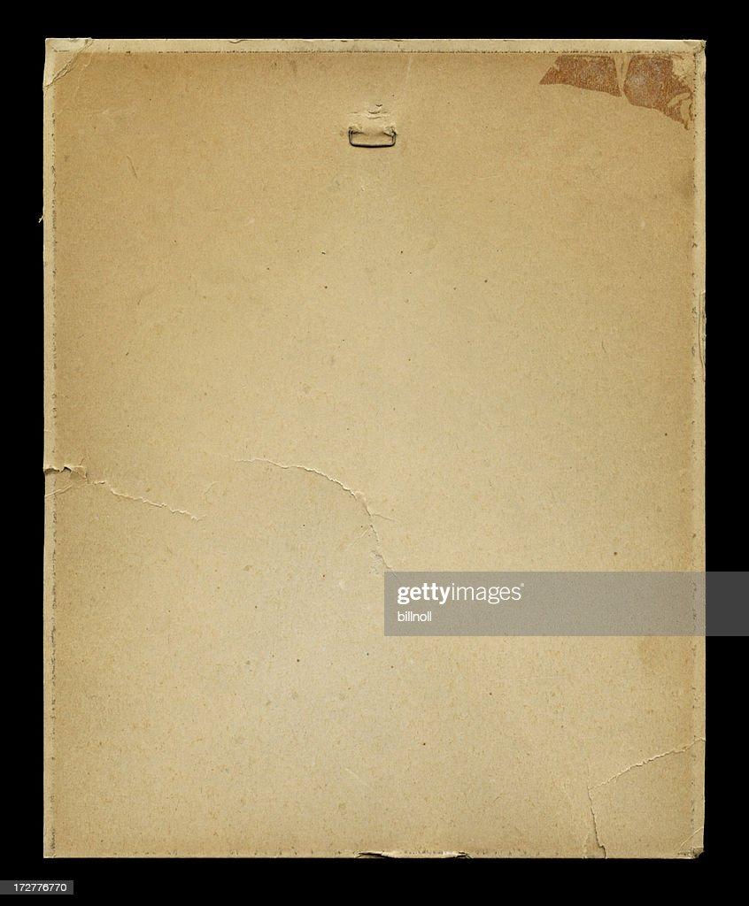 High resolution distressed cardstock on black