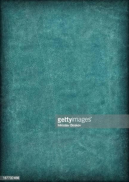 High Resolution Emerald Green Pig Leather Suede Vignette Grunge Texture