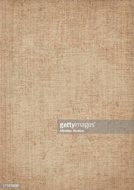 High resolution light grunge canvas texture for backgrounds