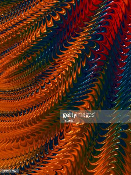 High resolution multi-colored fractal background, which patterns remind those of paint colors being stirred.