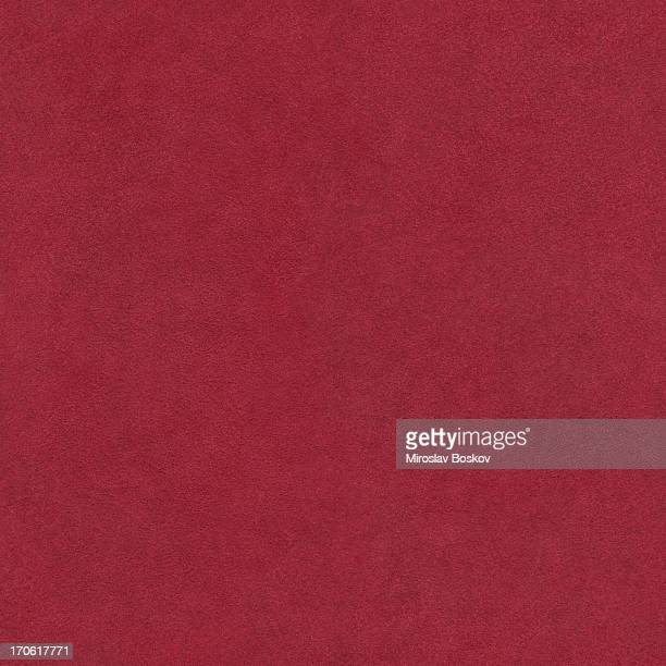 High Resolution Pig Red Suede Seamless Tile