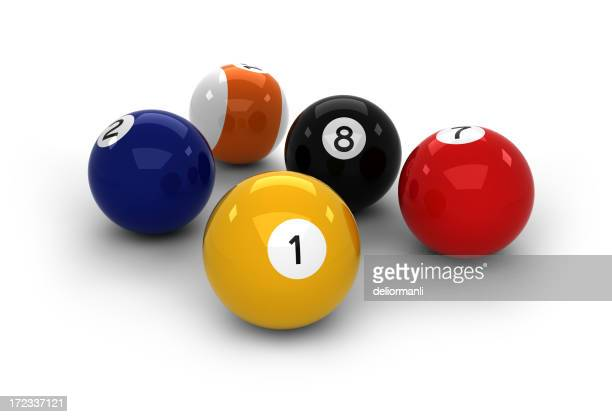 High resolution pool balls
