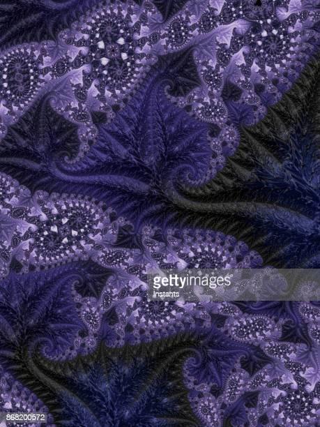 High resolution purple vintage fractal background.