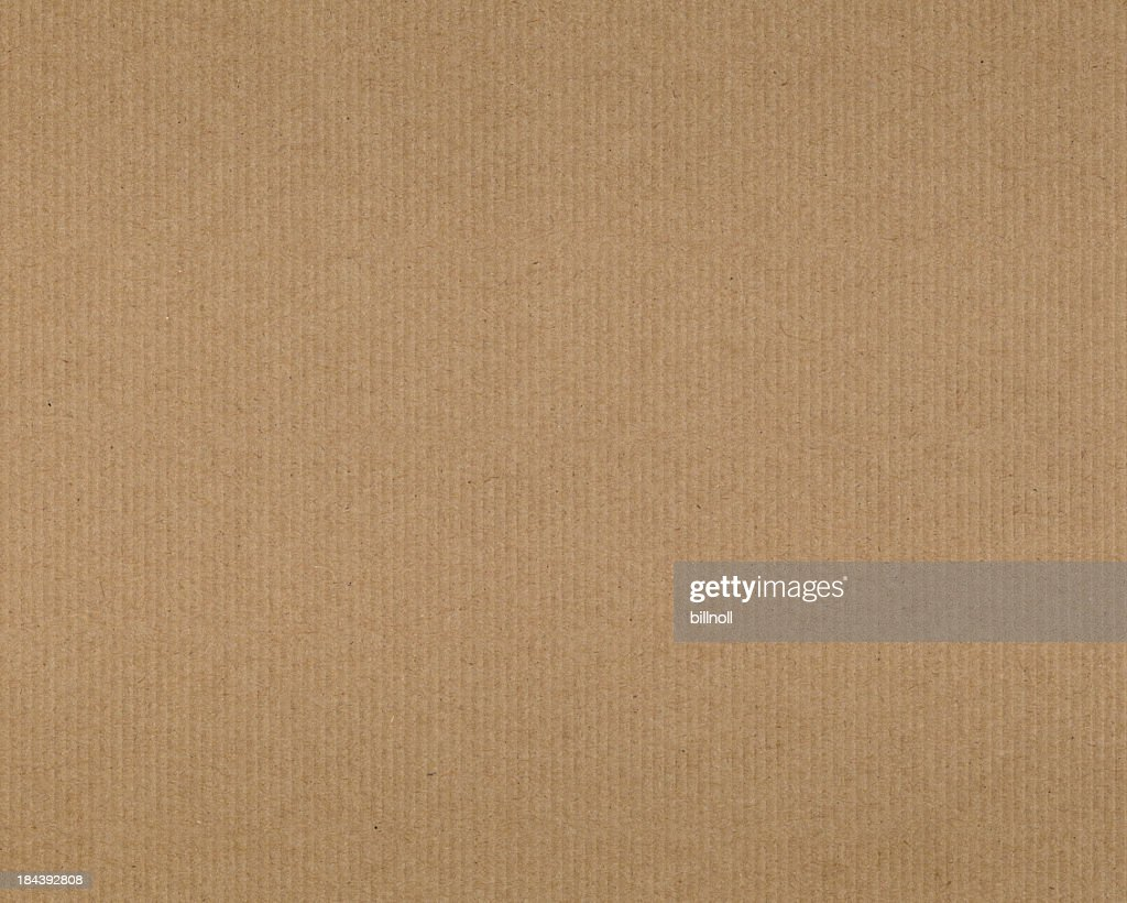 High resolution recycled cardboard