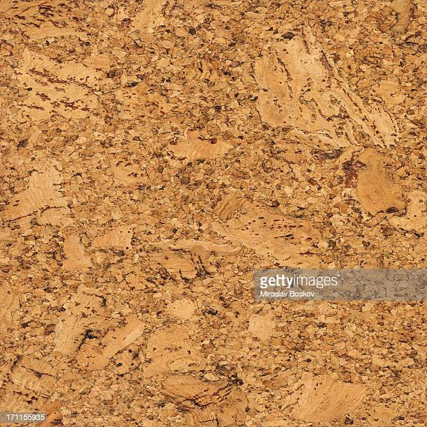High Resolution Seamless Natural Brown Cork Texture Wall Pattern Tile