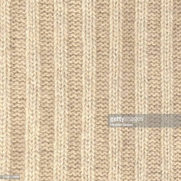 High Resolution Wool Knitted Fabric With Vertical Stripes Pattern