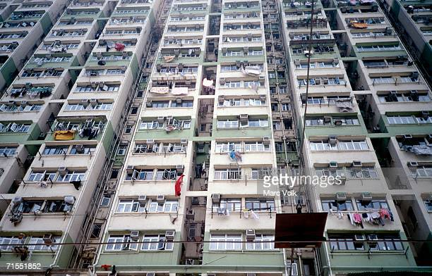 High rise apartment buildings, Hong Kong, China