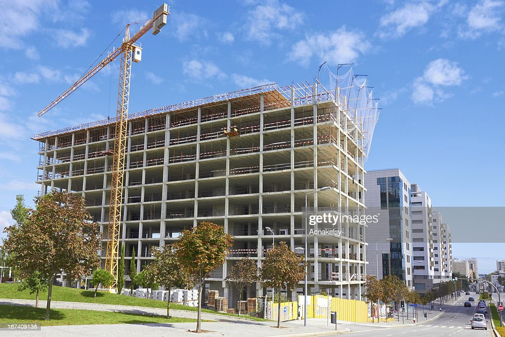 High rise construction : Stock Photo