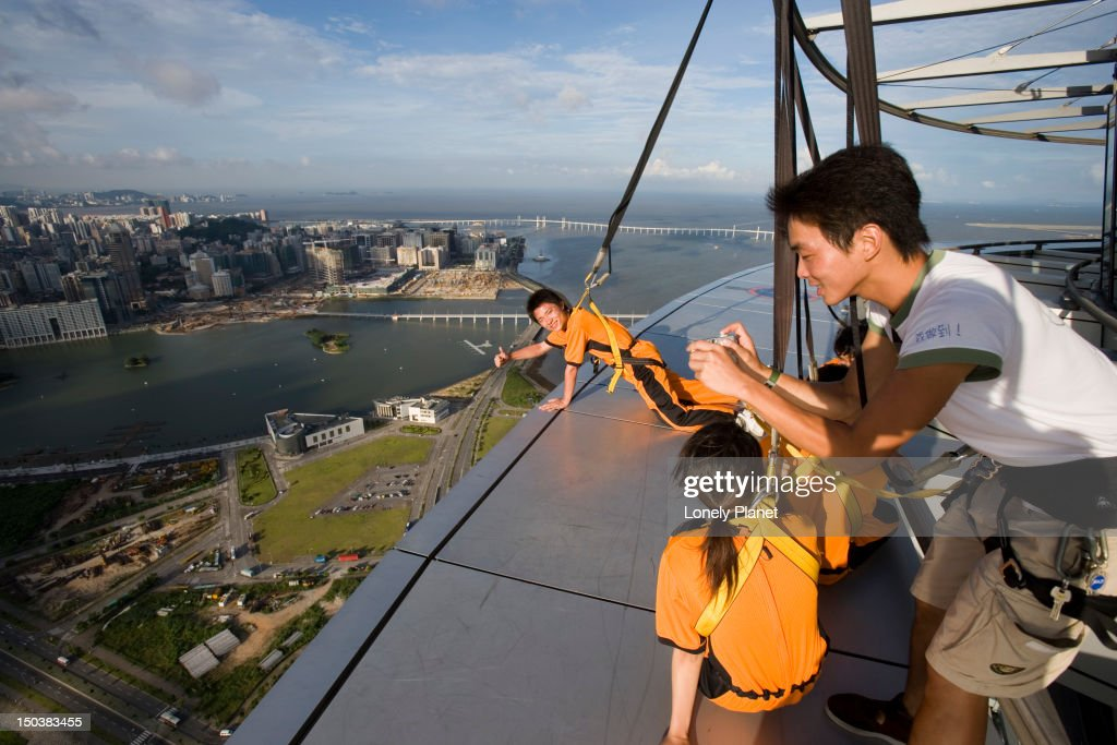 High rise jinx at Macau Tower, Southern Macau.