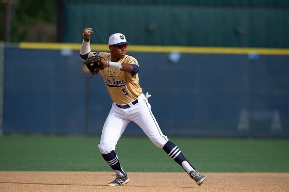 Notre Dame HS Hunter Greene, High School Baseball : News Photo