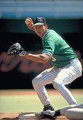 Westminster Christian HS Alex Rodriguez in action fielding during game Miami FL 3/11/1993 CREDIT Bill Frakes