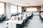 Computer Lab in Japanese High School