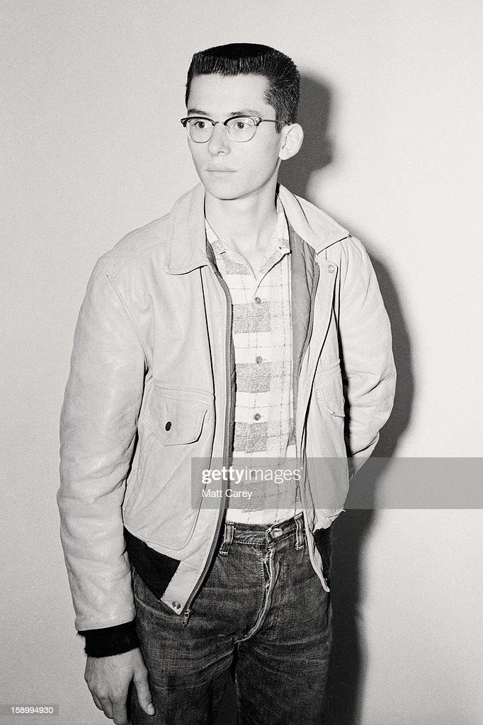 high school fashion, circa mid-1950s : Stock Photo