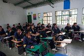 High School near Zipaquira near Bogota Colombia