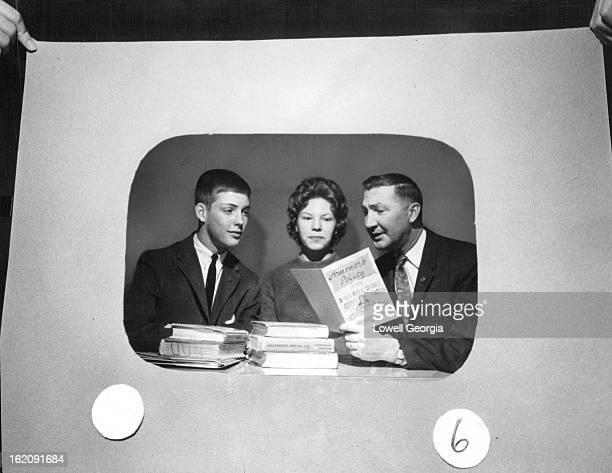 JAN 5 1961 JAN 8 1961 High School Panelists Get Briefed For TV Show Ernest Pech speech coordinator for the Denver schools explains 'Homework Policy'...