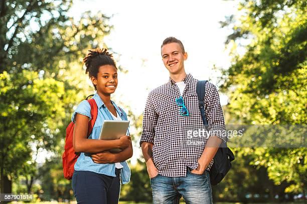 Hoch school-Schüler bereit für neue schol Jahr