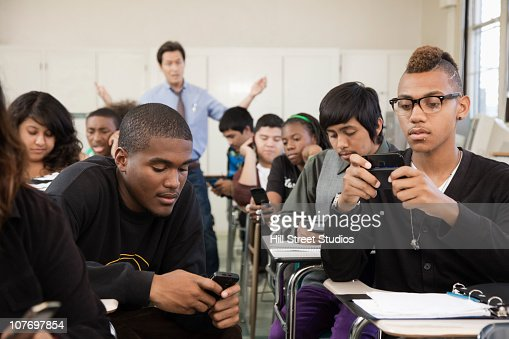 students and cellphones Overall, i think students should be able to use their cellphones during school for  these reasons: emergencies, checking up words you don't.