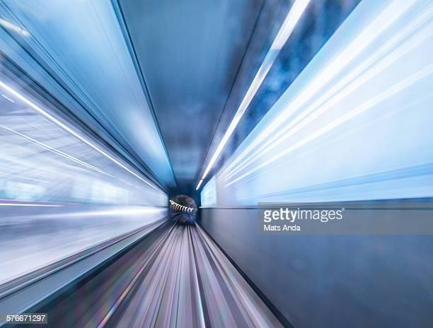 High speed through tunnel