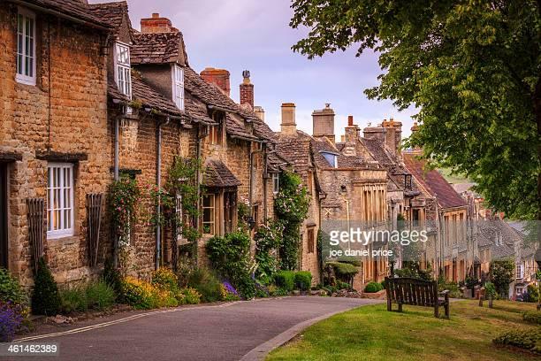 High Street at Burford, Oxfordshire, England