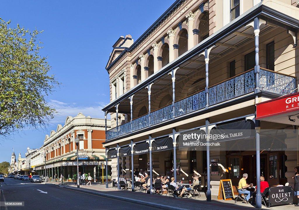 High Street heritage buildings