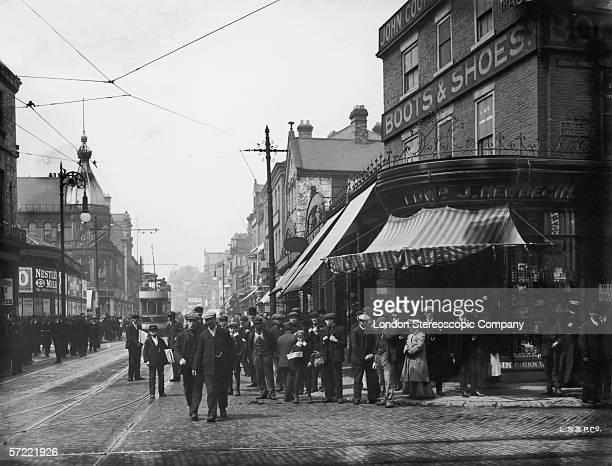 High Street West in Sunderland County Durham circa 1900