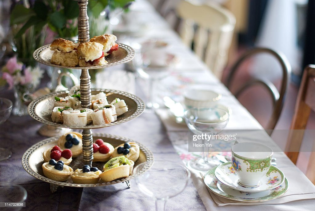 High Tea... : Stock Photo