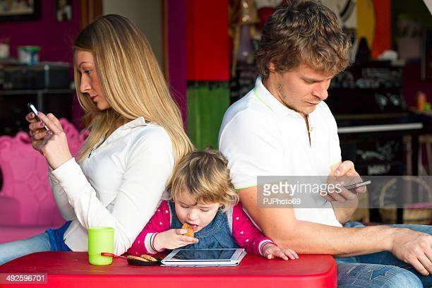 High tech family and lack of communication