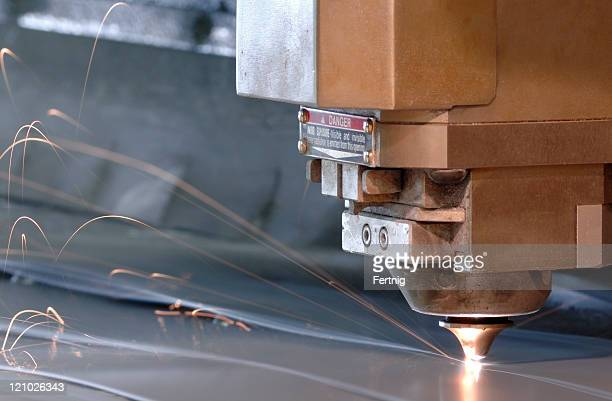 High tech taglio dei metalli, macchina per la produzione