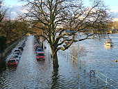 High tide, Richmond Upon Thames