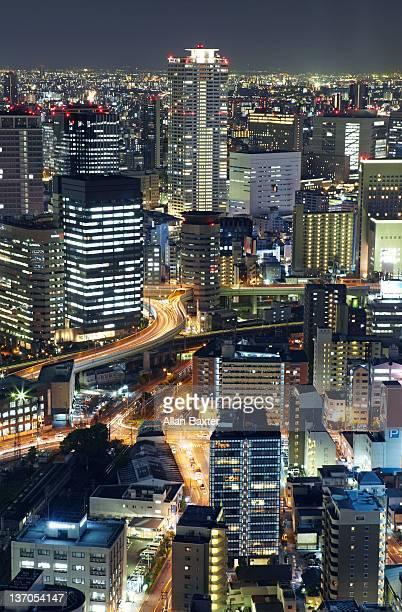 High view of Umeda