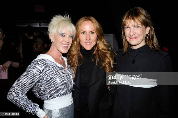 High Voltage Sarah SiegelMagness and Patti Harris attend Katie Couric launches EnergyUporg at Young Women's Leadership School 105 East 106th St on...