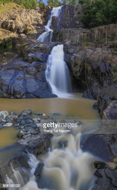 High water fall in Bidoup National park, Vietnam