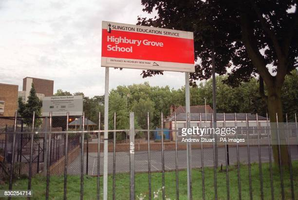 Highbury Grove School in North London where a teenage boy and a 40yearold man were hurt in a knife attack outside the school After the incident they...