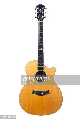 High-end acoustic guitar
