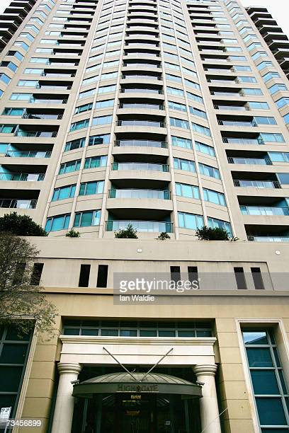 Highgate apartments are pictured March 1 2007 in Sydney Australia In a landmark ruling the Consumer Trader and Tenancy Tribunal ordered a couple in...