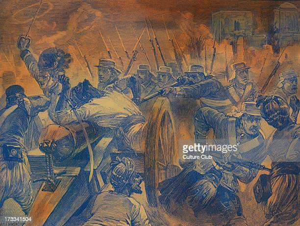 Highlanders capturing the guns at Cawnpore during the Indian Mutiny of 1857 Began as mutiny of sepoys Indian soldiers of the British East India...