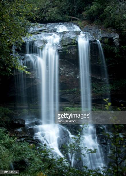 Highlands, North Carolina - Long Exposure of Dry Falls Waterfall