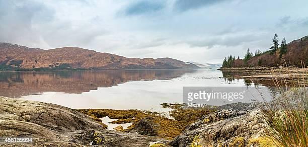 Highlands Panorama, Loch Linnhe Scotland