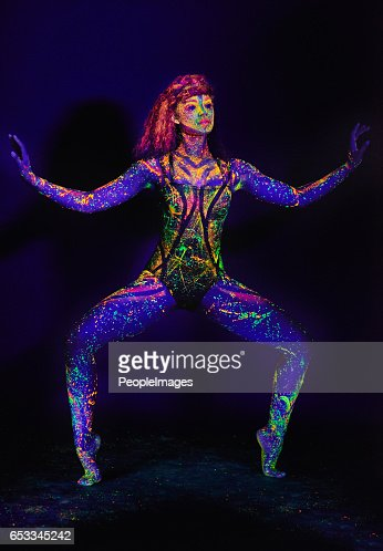 Highlighting her movement : Stock Photo