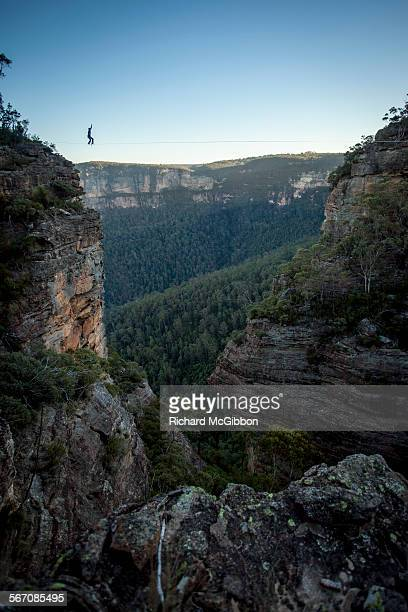 Highlining, Blue Mountains, Australia