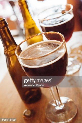 Highly regarded Belgian beer brewed by monks