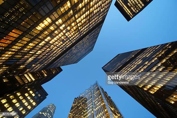 High-rise buidings in Toronto.
