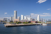 High-rise building and apartment in Yokohama Minato Mirai in Japan