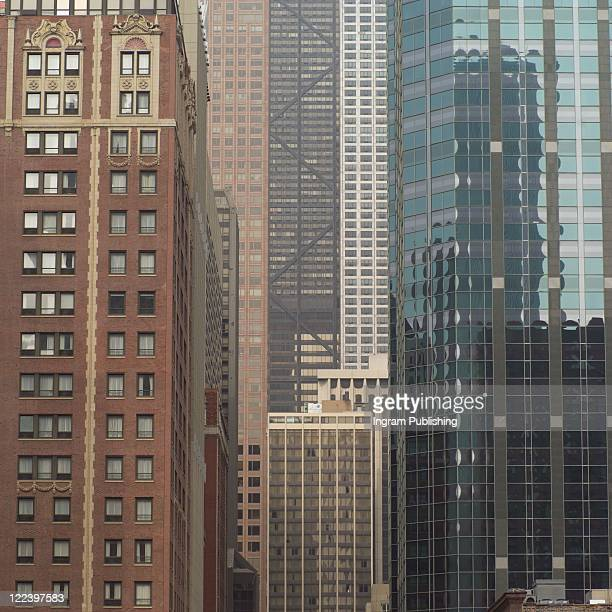 High-rise buildings in Chicago