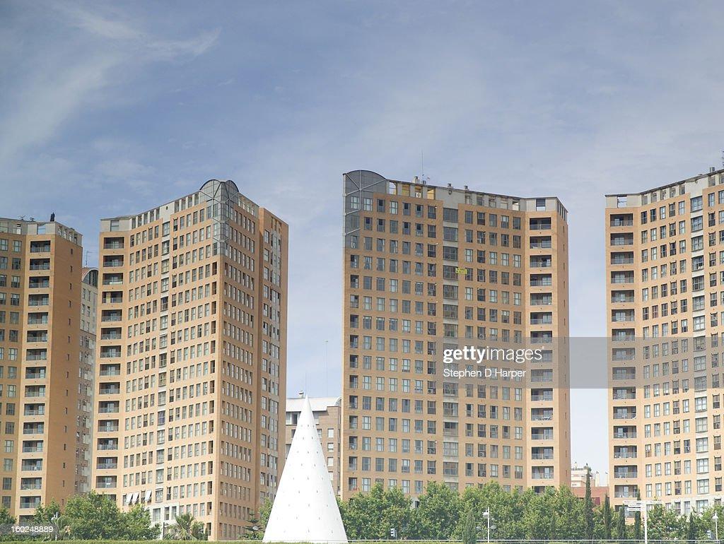 High-rise flats : Stock Photo