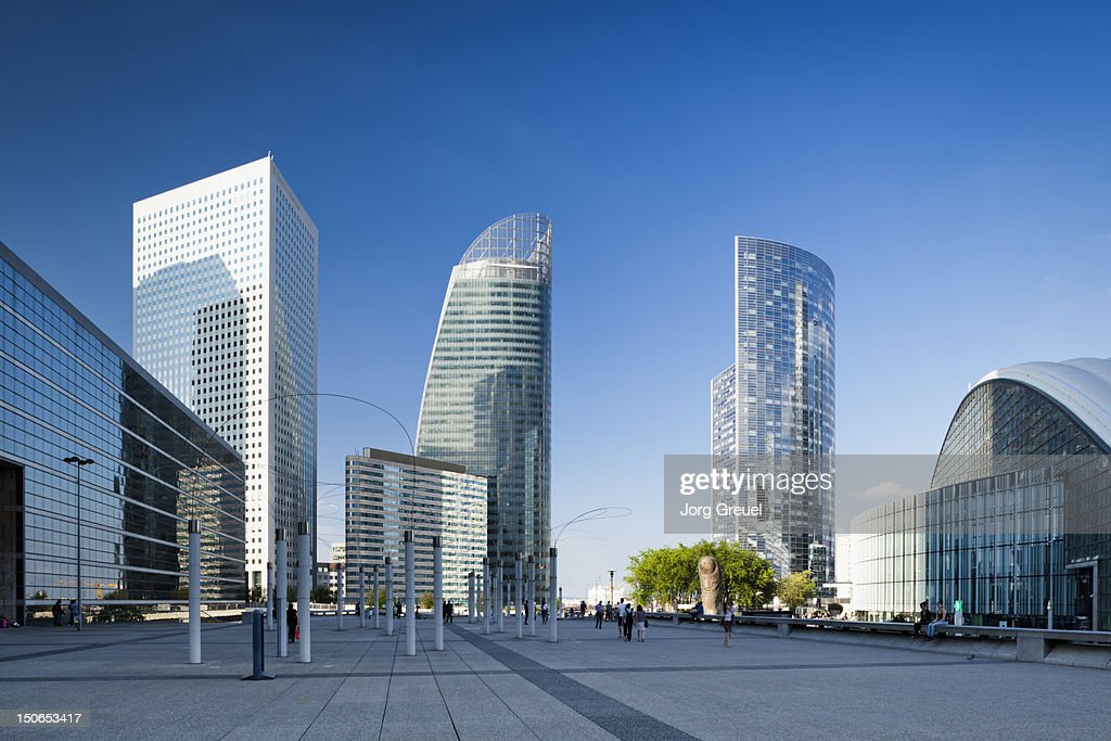 High-rise office buildings : Stock Photo