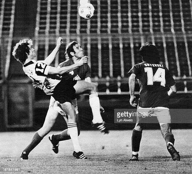 JUL 12 1978 JUL 13 1978 HighStepping Caribou Draws Penalty In 30 Loss To Toronto Metros Colorado's Bob Rohrbach was called for high kicking as he...