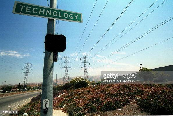 Highvoltage power lines loom over Technology Drive in Fremont California 03 August Severe heat and hightech demands has strained power grids in...